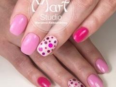 Розовое покрытие с камифубиками